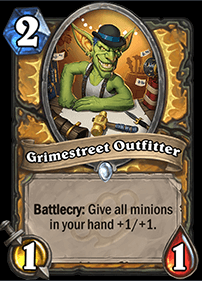 Grimestreet Outfitter HS Paladin Card
