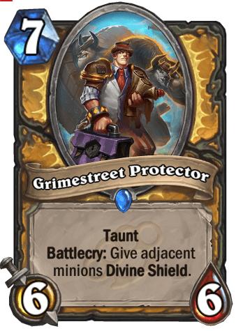 Grimestreet Protector HS Paladin Card
