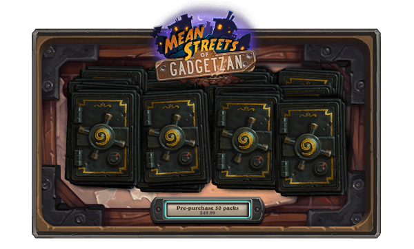 How Much Will Mean Streets of Gadgetzan Cost