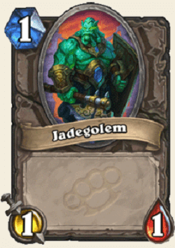 Jade Golem HS Card 1 Attack