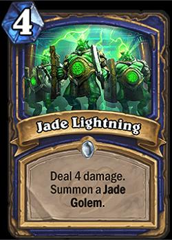 Jade Lightning HS Shaman Card