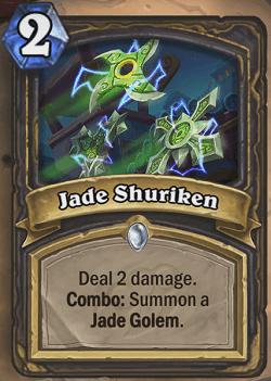 Jade Shuriken HS Rogue Card