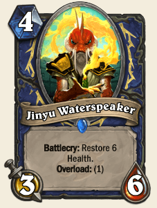 Jinyu Waterspeaker HS Shaman Card