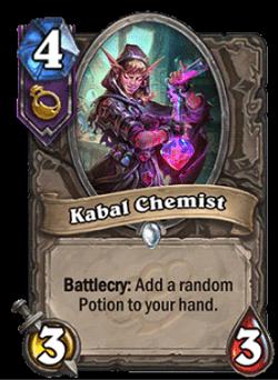 Kabal Chemist HS Tri-class Card