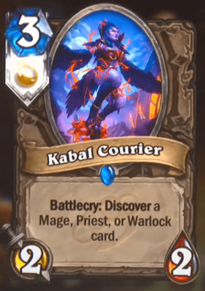 Kabal Courier HS Card