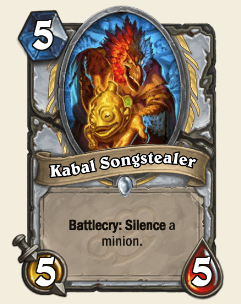 Kabal Songstealer HS Priest Card