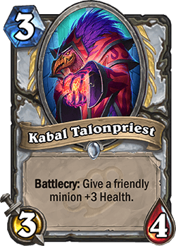 Kabal Talonpriest HS Priest Card