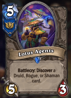 Lotus Agents HS Card