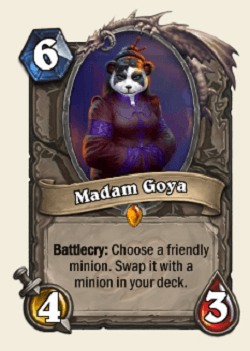 Madam Goya HS Legendary Card