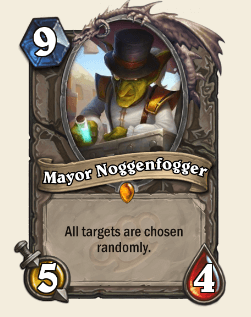 Mayor Noggenfogger HS Legendary Card
