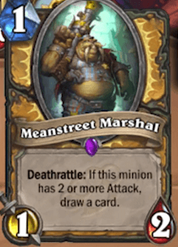 Meanstreet Marshall HS Paladin Card