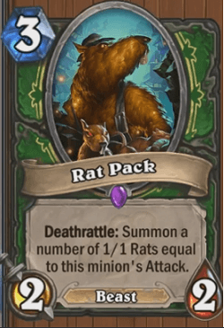 Rat Pack HS Hunter Card