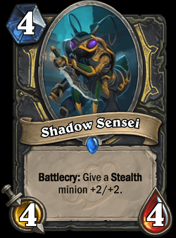 Shadow Sensei HS Rogue Card