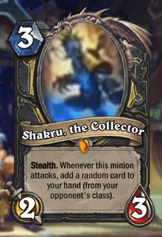 Shakru HS Rogue Legendary Card