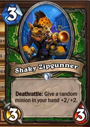 Shaky Zipgunner HS Hunter Card