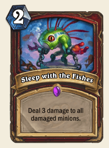 Sleep with the Fishes HS Warrior Card