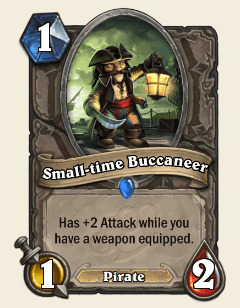 Small-time Buccaneer HS Card