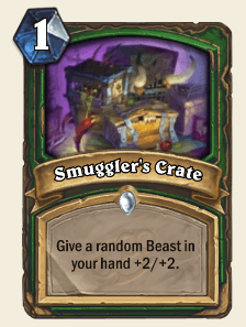 Smuggler's Crate HS Hunter Card