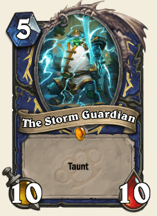 The Storm Guardian HS Legendary Shaman Card