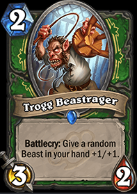 Trogg Beastrager HS Hunter Card