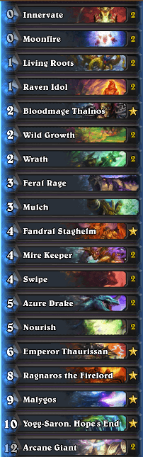 Tyler Heroic Tavern Brawl Malygos Druid Deck