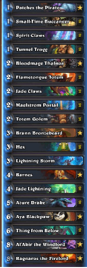 Bearnugget Rank 2 Legend Midrange Shaman Dec 16