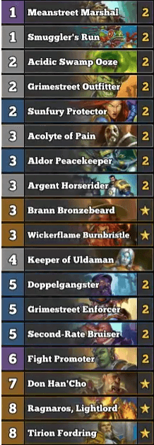 Best Paladin Deck January 2017 Season 34