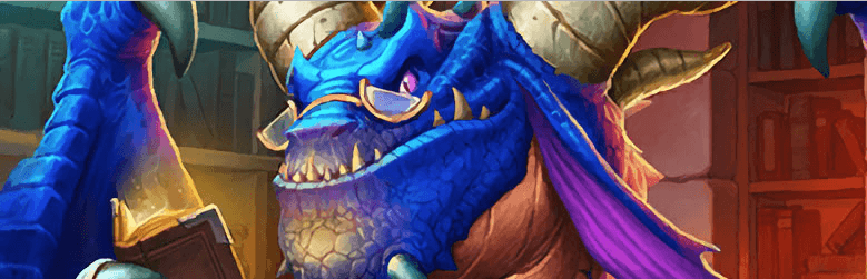 Book Wyrm Hearthstone Art