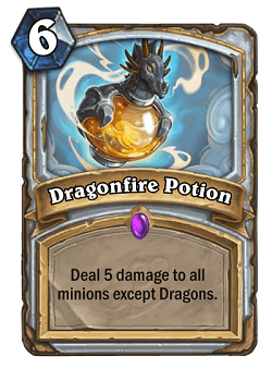 Dragonfire Potion HS Priest Card