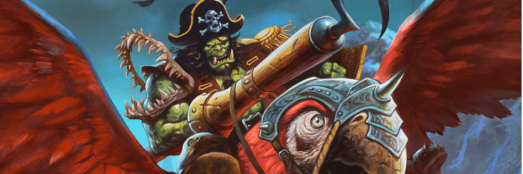 Hearthstone Pirate Art