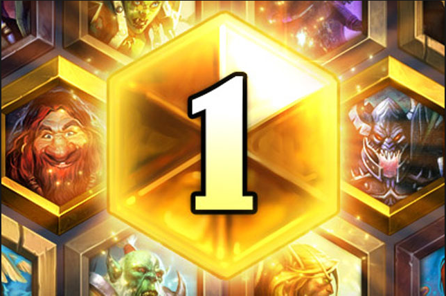 Hearthstone rank 1 legend deck