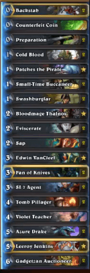 MrYagut Rank 1 Legend Miracle Pirate Rogue Deck