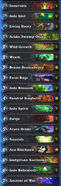 Rank 1 Legend Jade Druid by Justsaiyan Dec 16