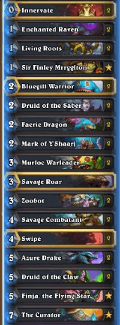 Rosty Legend Murloc Druid Deck Dec 16
