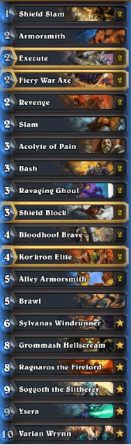 Rosty Legend Tempo Warrior Dec 16