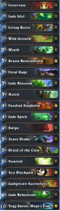 Stancifka Jade Druid w Yogg and Mulch Deck