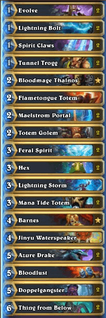 Th3rat Gadgetzan Evolve Shaman List