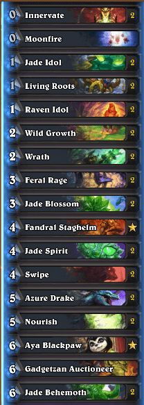 Thijs Jade Cycle Druid Deck Dec 16