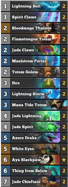 Trump Jade Golem Shaman w White Eyes