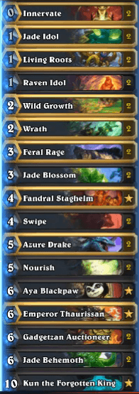 Tyler Jade Golem Druid w Kun the Forgotten King
