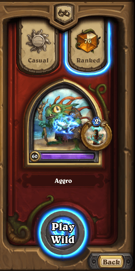Wild Legend Aggo Shaman Dec 16