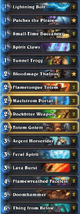 Zorkthar Gadgetzan Aggo Shaman w Pirates 93% Win Ratio