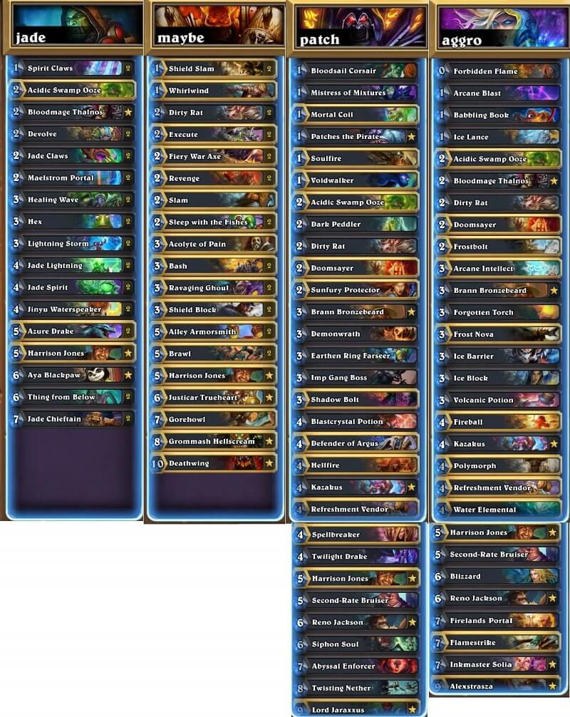 Fibonacci NA Winter Prelims 17 Decks
