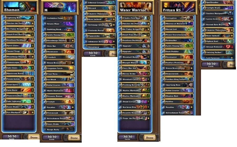Fr0zen NA Winter Prelims 17 Decks