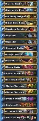 Fr0zen Warrior Prelim Deck w Finja and Murlocs