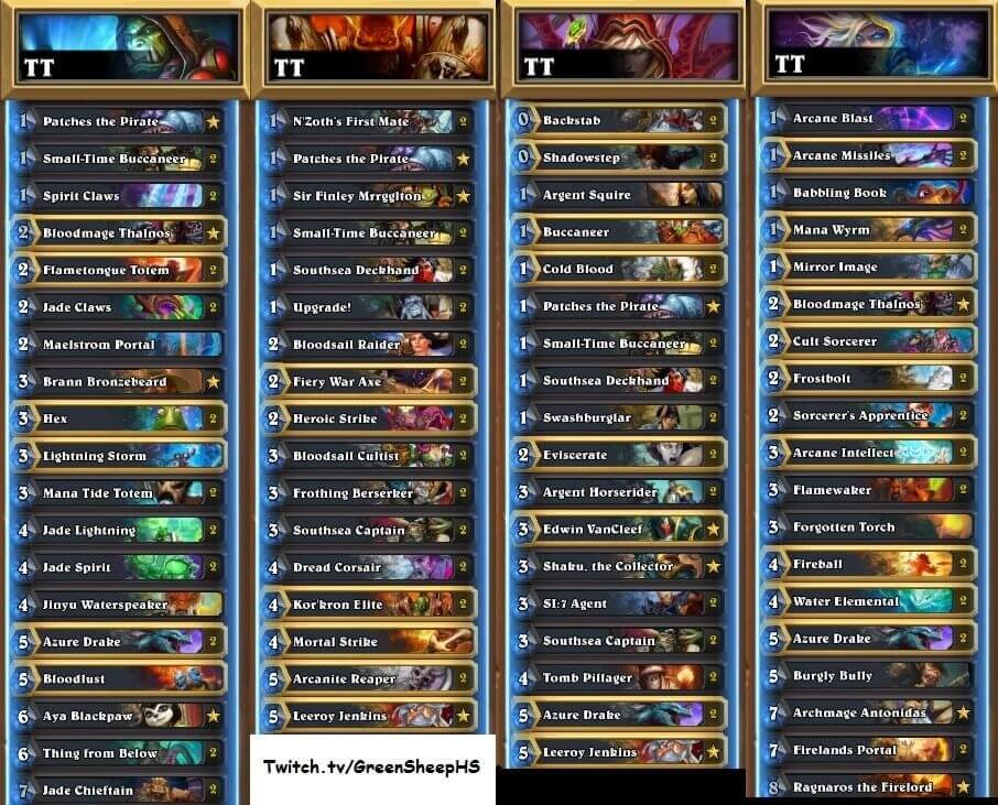 Greensheep EU Winter Prelims 17 Decks