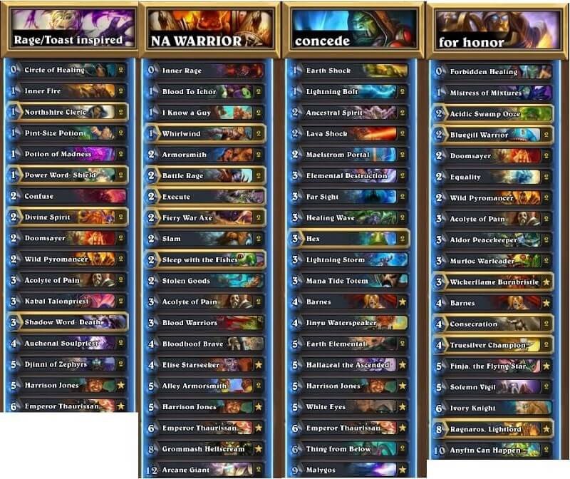 HotMEOWTH NA Winter Prelims 17 Decks