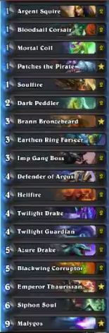 MrYagut Malygos Warlock Deck Feb 17