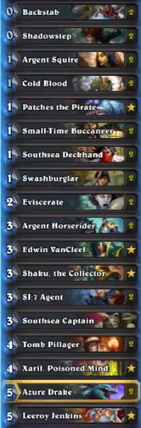 Muzzy Pirate Rogue Deck February 17