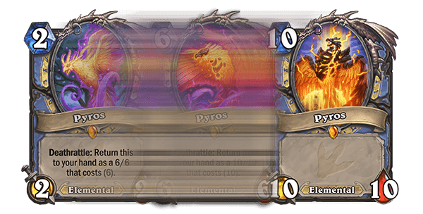 Pyros Elemental HS Mage Card 10 Mana